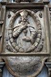 法坛,维尔茨堡大教堂细节  库存照片