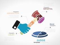 法官 免版税库存图片