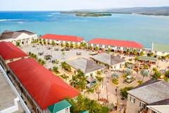 法尔茅斯口岸在牙买加海岛, Caribbeans 库存照片