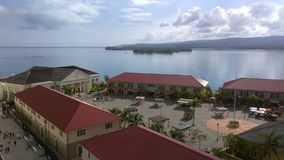 法尔茅斯巡航口岸港口牙买加 库存图片