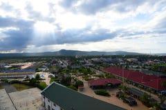法尔茅斯,牙买加港  免版税图库摄影