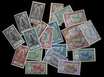 1929年法属印度邮票 免版税库存图片
