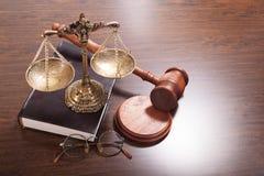 法律协助供应  免版税库存照片