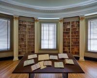 法律图书馆 免版税库存照片