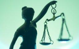 法律律师事务所雕象 库存图片