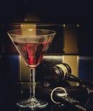 法律概念惊堂木喝酒开车 库存图片