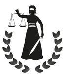 法律正义 免版税库存照片