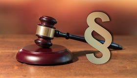 法律的概念 免版税库存照片