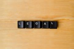 法律词 免版税库存图片