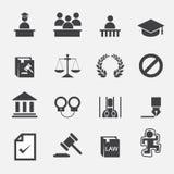 法律象 免版税图库摄影