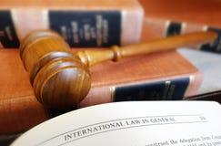 法律页 免版税库存照片