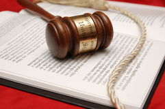 法律顺序 免版税库存照片