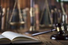 法律题材 免版税库存图片
