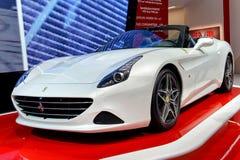 法拉利在2014年日内瓦Motorshow 免版税库存图片