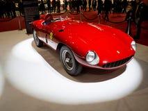 1955年法拉利蒙扎750在米兰Autoclassica 2016年 库存照片