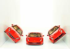 法拉利跑车:FF, F12 Berlinetta和458意大利 库存照片