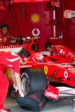 法拉利车队F1,迈克尔・舒马赫, 2006年 免版税库存图片