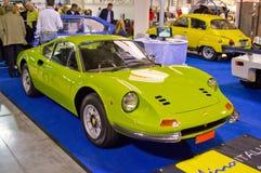 法拉利迪诺246 GT在米兰Autoclassica 2014年 库存图片