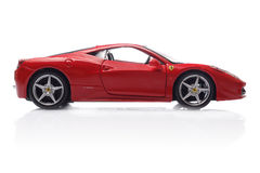 法拉利458意大利 图库摄影
