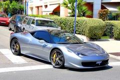 法拉利458意大利 库存图片