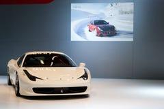法拉利458 免版税图库摄影