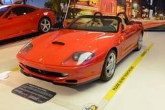 法拉利550 Barchetta Pininfarina 免版税库存照片