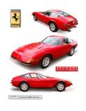 法拉利356 ` Daytona `小轿车 免版税库存图片