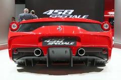 法拉利458 Speciale 库存照片
