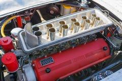 法拉利250 TR V-12引擎 免版税图库摄影