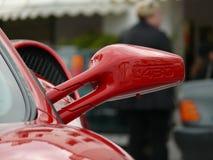 法拉利F430的后视镜在西班牙 免版税库存图片
