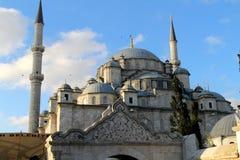 法提赫清真寺在伊斯坦布尔 火鸡 免版税库存图片