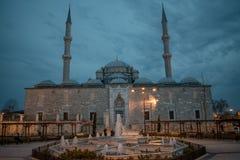 法提赫清真寺,伊斯坦布尔,土耳其 库存照片