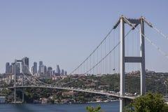 法提赫苏丹穆罕默德桥梁特写镜头  免版税库存图片