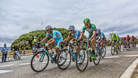 法比奥阿鲁-伏打Ciclista Catalunya 2016年 库存照片