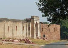法泰赫普尔西克里:未恢复的大厦 库存照片