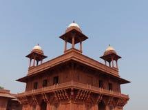 法泰赫普尔西克里:Diwan-i-Khas 库存照片