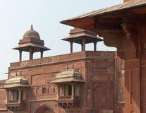 法泰赫普尔西克里:Jodha Bai's宫殿 免版税库存图片