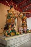 法海寺在扬州苗条西湖 库存照片