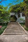 法海寺在扬州苗条西湖 免版税库存图片