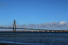 法罗桥梁 免版税库存图片