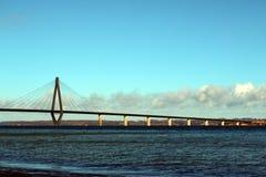 法罗桥梁 免版税图库摄影