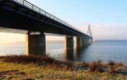 法罗桥梁 库存照片