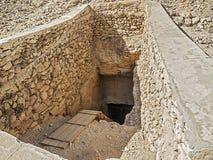 法老王的坟茔 库存图片