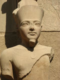 法老王的雕象 库存图片