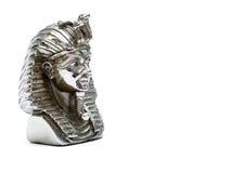 法老王雕塑 库存照片