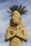 Ramses II. Karnak寺庙。 卢克索,埃及 免版税库存图片