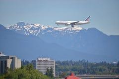 法航喷气式客机 免版税图库摄影