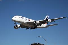 法航空中客车A380 图库摄影