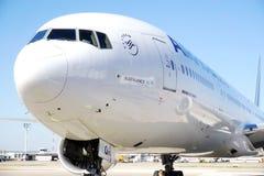 从法航KLM (AF)的波音777 免版税库存照片