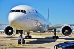 从法航KLM (AF)的波音777 免版税库存图片